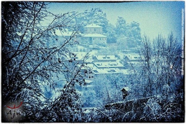 Paesaggi invernali dal nostro atelier | Winter landscapes from our atelier // Luca Rajna Progetti Fotografici // http://www.progettifotografici.com/lago-di-como-paesaggi-invernali/