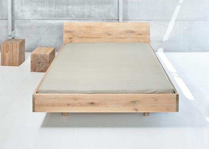 Die besten 25+ Doppelbett aus Holz Ideen auf Pinterest - modernes designer doppelbett holz