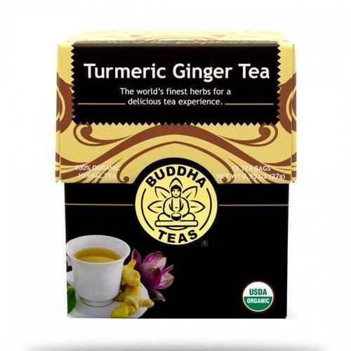 Buddha Teas Organic Turmeric Ginger Tea (6x18 BAG)
