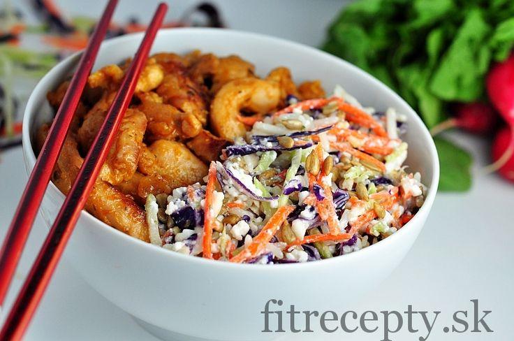 Ázijský kurací šalát - FitRecepty