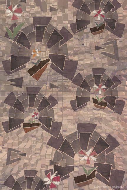 Italian Alley pattern by Mirva Mähönen