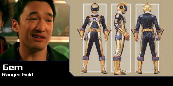 Gem (Ranger Gold) - Power Rangers RPM | Power Rangers Central
