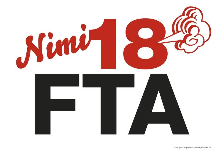 NO FTA #Graphic #Design and #Typography