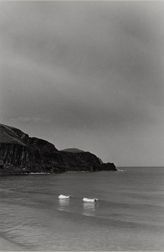 "Bernard Plossu ""La isleta del Moro, Espagne, 1989"" Tirage argentique 24cm x 30cm"