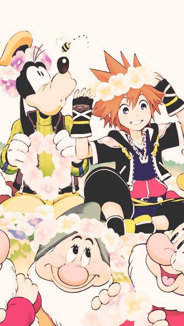 Kingdom Hearts iPhone Wallpaper