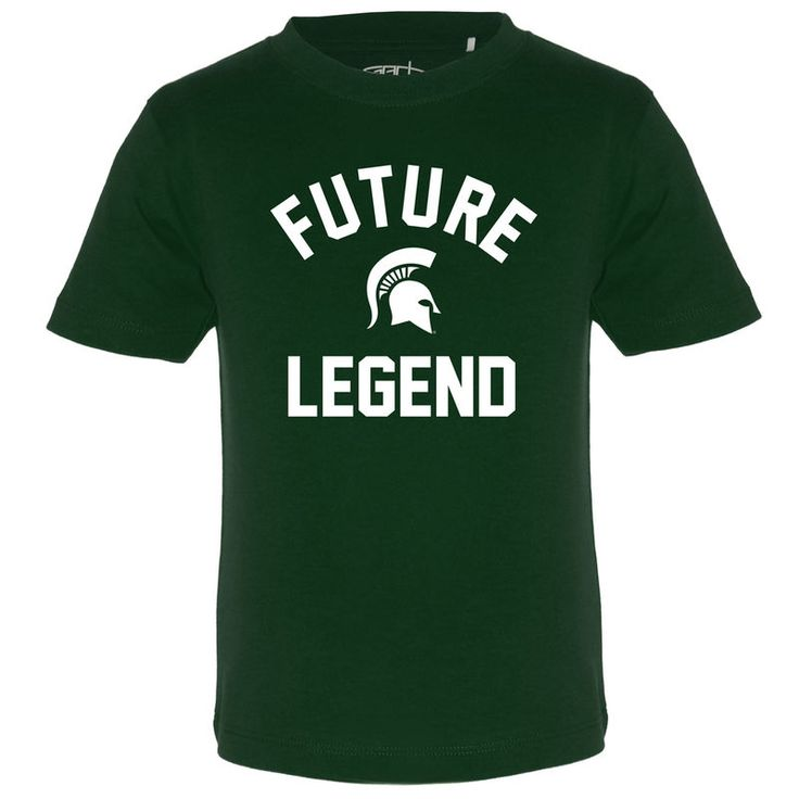 Michigan State Spartans Toddler Toni Future Legend T-Shirt - Green