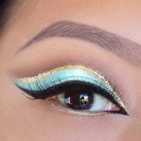 Style By Cat: Princess Jasmine Mint & Gold