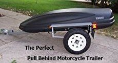 Coffin Motorcycle Trailers - Pull Behind Motorcycle Trailers