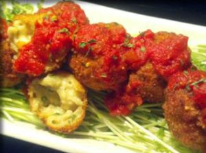 Super Bowl Starters: Chef Eric Rogers' Alfredo macaroni balls