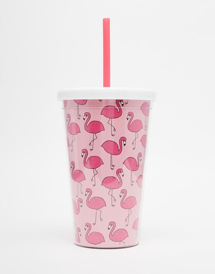Image 1 of Skinnydip Flamingo Drinking Cup