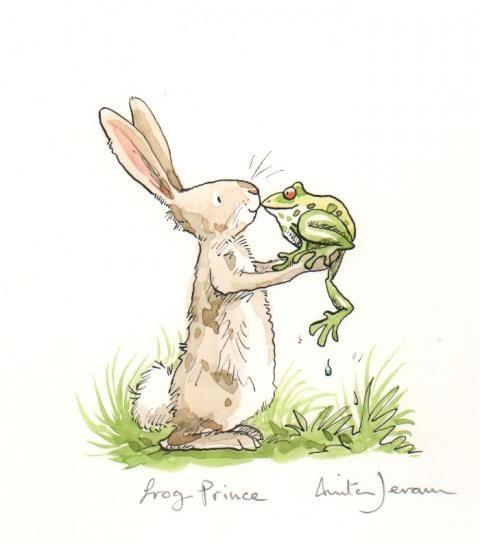 'Frog Prince' by Anita Jeram