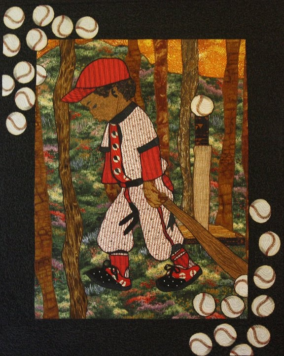 17 best Sports Themed Quilts images on Pinterest | Ad design ... : sports themed quilts - Adamdwight.com