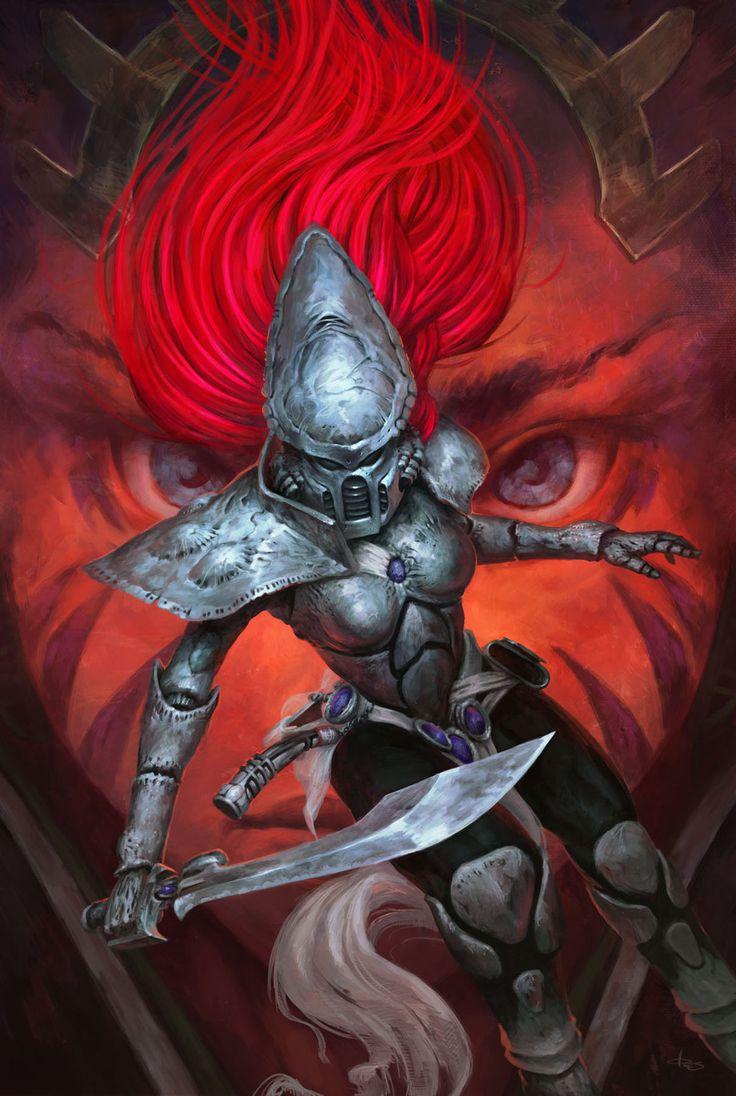 Warhammer 40k Dawn of war II #2 by byakko-kun