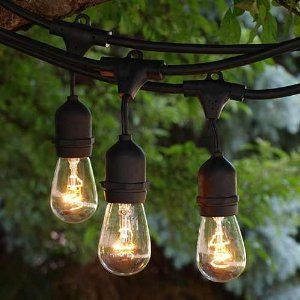 String lights 20 pinterest the perfect lights for an outdoor industrial space outdoorlighting lighting yard mozeypictures Gallery