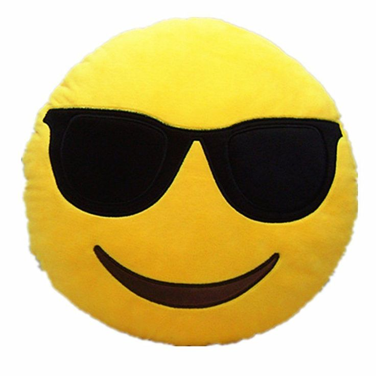 Emoji Pillow - Cool - EmojiCutie