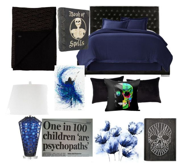"""""""Hades daughter room"""" by hadesdaughter-15 ❤ liked on Polyvore featuring interior, interiors, interior design, home, home decor, interior decorating, Safavieh, Callisto Home, Yves Saint Laurent and ELK Lighting"""