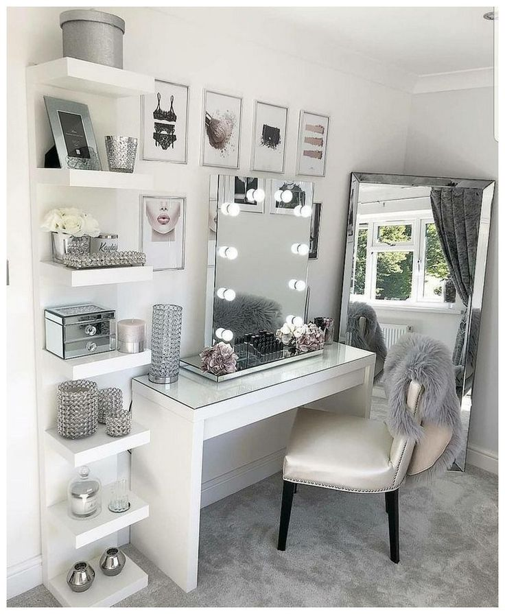 48 most popular makeup vanity table designs 23