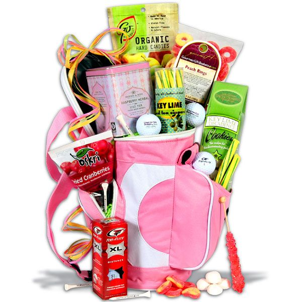 Ladies Tee Time™ Golf Gift Basket