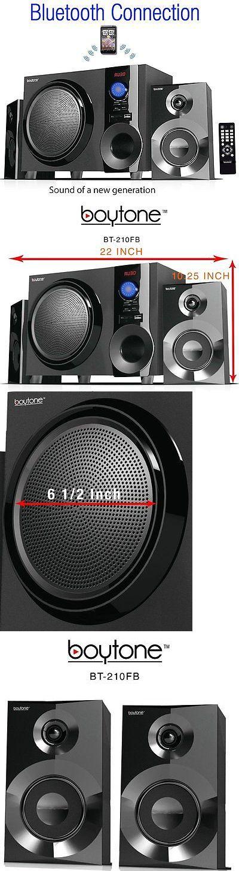 Audio Docks and Mini Speakers: Boytone Bt210fb Wireless Bluetooth 2.1 Speaker Bluetooth Sd Aux Usb Fm Radio New BUY IT NOW ONLY: $72.99