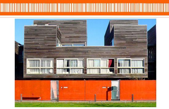Hollainhof Social Housing – residential complex in Ghent (Belgium)  by Neutelings-Rieddijk's architects