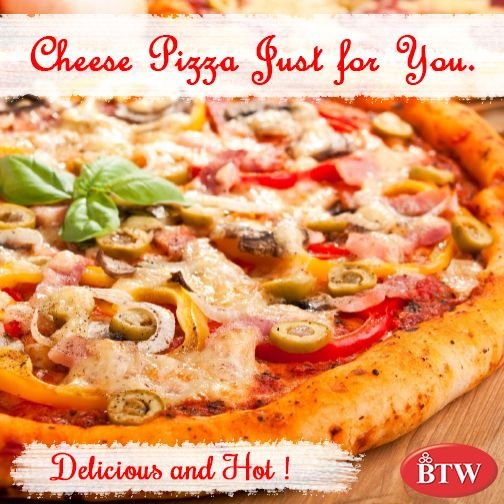 Every Occasion Calls For a Delicious Pizza. #BTW #Pizza  #pizzasofinsta #cheese #chilis #English #easy #fashion #pizzario  #slice #street #style  #mypizza #resturant #dinner #lunch #resturants #yummy #amazing #fresh #tasty #foodie #delish #delicious #eating #pizzalovers #pizzalovers #celebrate #ordernow #party