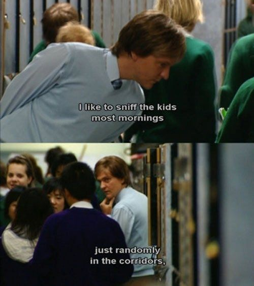 "Know your surroundings: | How To Survive High School, According To ""Summer Heights High"""