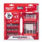 Milwaukee Shockwave Impact Duty Steel Driver Bit Set (35-Piece)-48-32-4007 - The Home Depot