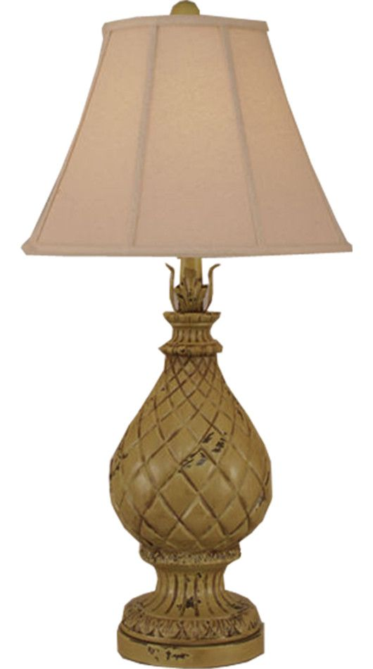 Pineaplle Pot Table Lamp