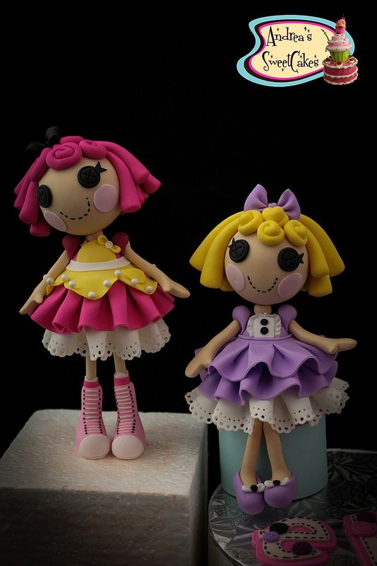 Lalaloopsy Cake toppers