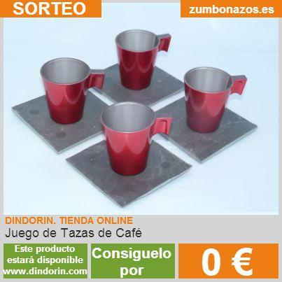 Sorteo Dindorin Juego de Tazas de Cafe