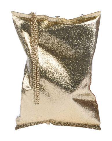 ANYA HINDMARCH Handbag. #anyahindmarch #bags #leather #clutch #metallic #shoulder bags #lining #hand bags #