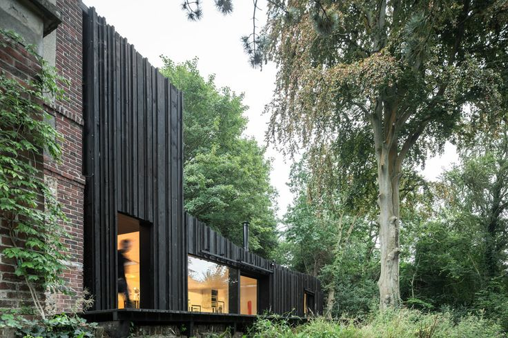 Black Wood House in Normandy