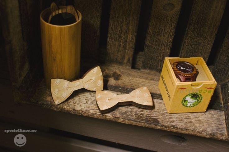 #wood#bow tie#wooden watch#sunglases#bamboo#www.treklokker.no#