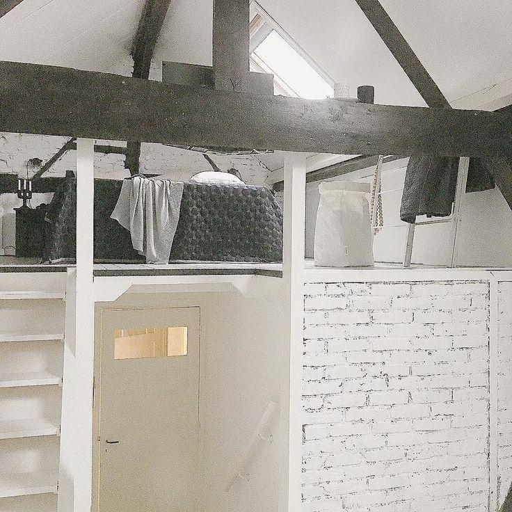 25 beste idee n over zolder vliering op pinterest zolder ombouwen vliering en zolder verbouwing - Kind mezzanine kantoor ...
