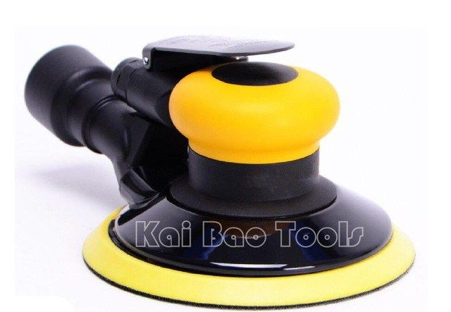 6inch Air Random Orbital Sander Central Vacuum Orbit 5mm Pneumatic Power Sanding Tool 150mm Vacuum Buffing Woodworking Tips Woodworking Projects Sanding Tools