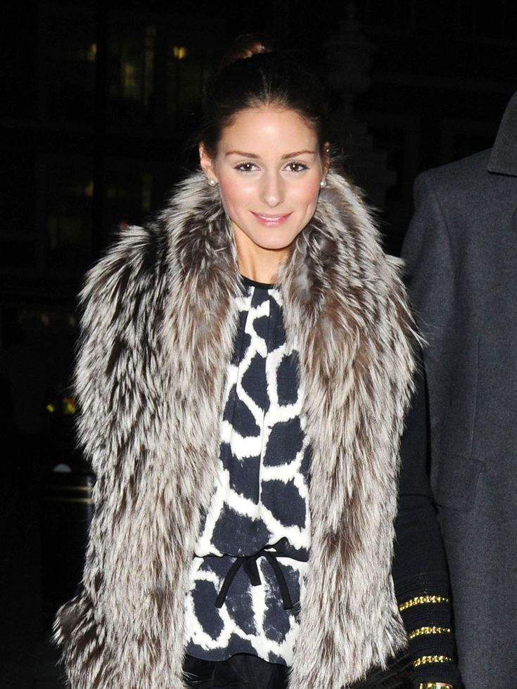 Olivia PalermoFur Coats, Street Fashion, Wear Fur, Palermo Fur, Olivia Palmero, Fashion Fallwinter, Olivia Palermo, Fallwinter Fashion, Fur Vest