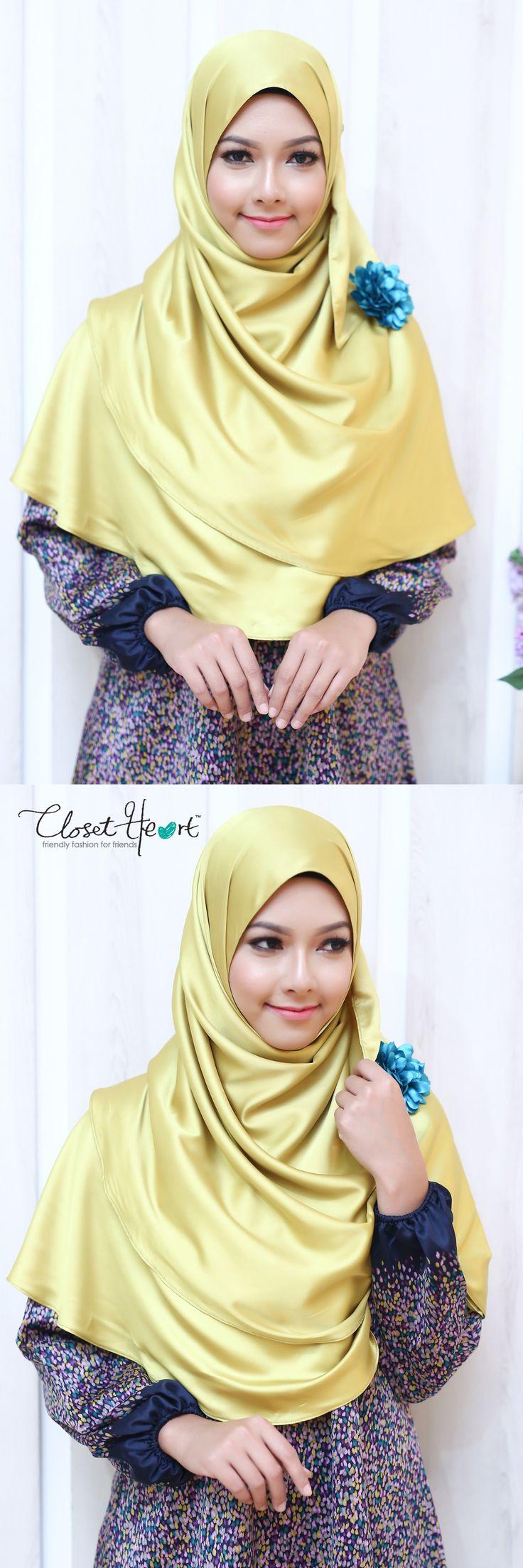 Model Hijab Closet Heart Facebook: Closet Heart Official Instagram: Closet Heart