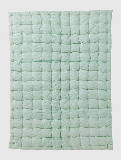 Reversible duvet Green stripe