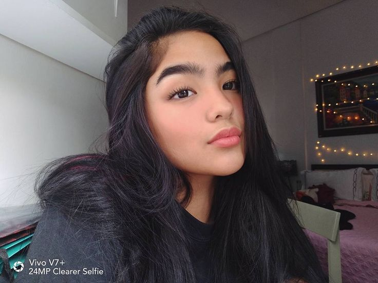 "137.1k Likes, 570 Comments - Andrea Brillantes (@blythe) on Instagram: ""I don't always surf the internet, but when I do, eyebrows! #VivoV7Plus #VivoClearerSelfie"""