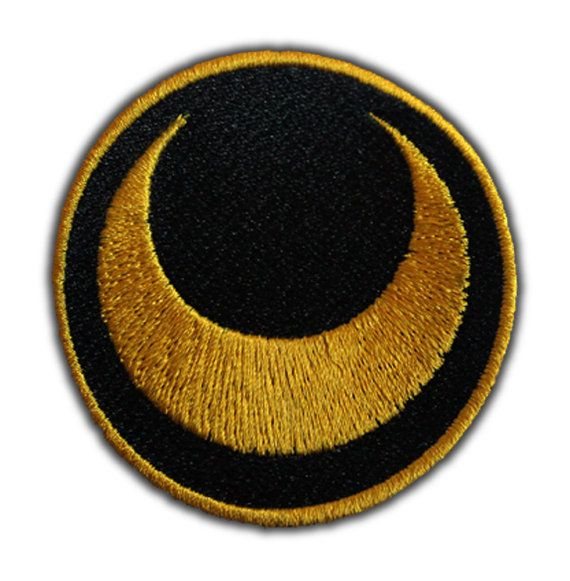 Sailor Moon Symbol Patch by AffrayPatchworks on Etsy, $5.00