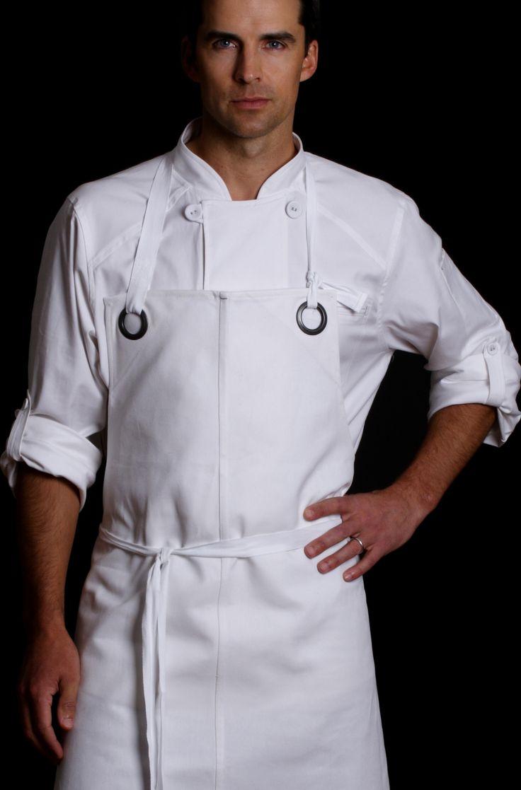 White chef apron target - Designer Chef Jacket Men S Station