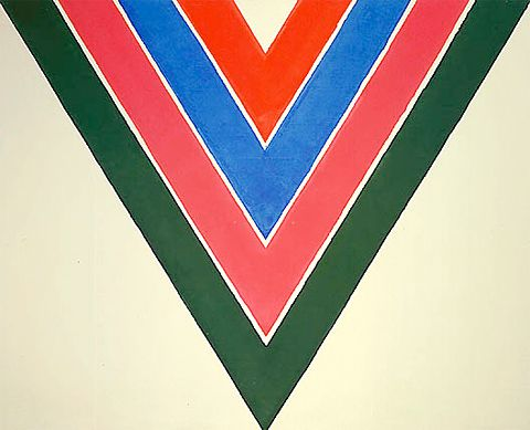 Kenneth Noland, Abstraction Expressionism, Color Field