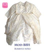 Uno de nuestros modelos favoritos, B001 en seda color marfil =)