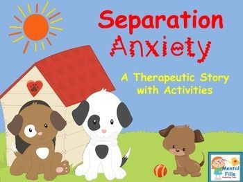 This therapeutic story for children having a difficult time with separation anxiety and school refusal will help open the conversation about anxiety and coping skills. The is a story about a puppy named Sam, who is anxious about starting school. Through r