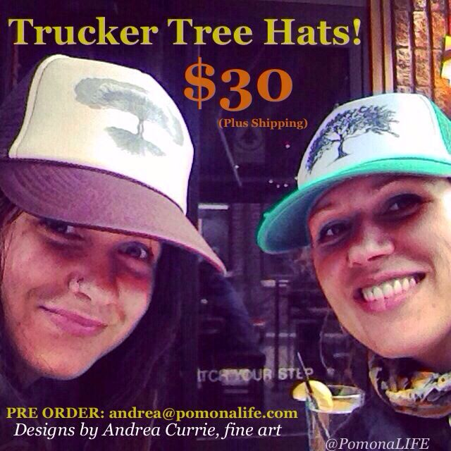TREE TRUCKER HATS! Designs by Andrea Currie, fine art www.acurrie.com  I am gearing up for my summer art festivals in Toronto, Collingwood and Elora!  >>PRE ORDER <<  Email: andrea@pomonalife.com ~~~~~ Various colours and styles available! Get you tree art love on with style. #treeartlove @pomonalife #andreacurrie  ~~~~~ #acurrie #pomonalife #creatinglifeart  #feelgood #art #artislife #artistrylove #art_empire #CanadianArt #artists #gallery #madeincanada #madewithlove #toronto #torontoart