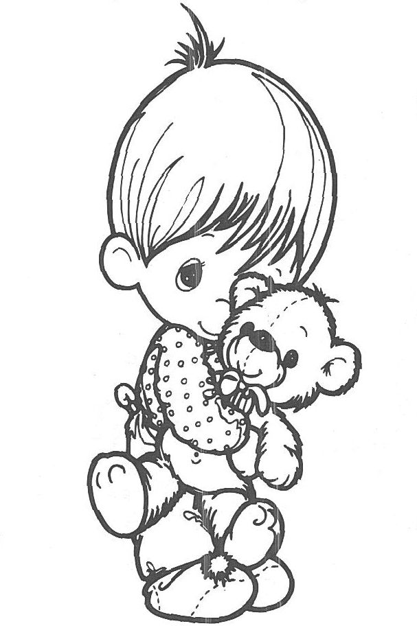 precious moments teddy bear coloring pages - 100 best images about grandchildren projects on pinterest