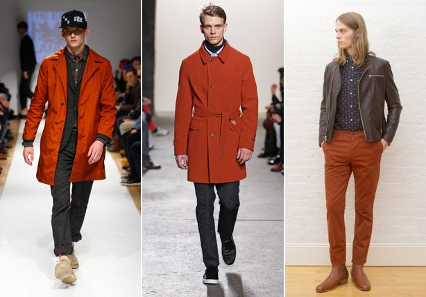 The Top Five Colors from New York Fashion Week - Fall Winter 2013 Trends for Men - Esquire