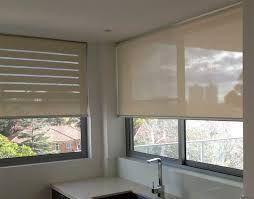 Inside fit, sunscreen roller blinds