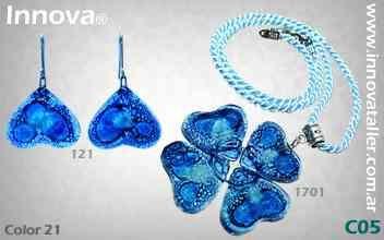 Bijouterie y accesorios de vidrio por mayor - Innova Vitrofusion