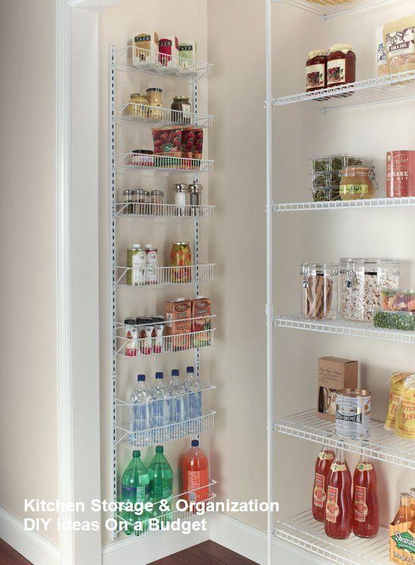 Pantry Shelving Kitchen Storage